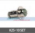 써큘라 커넥터 콘넥타 K25-10 SET